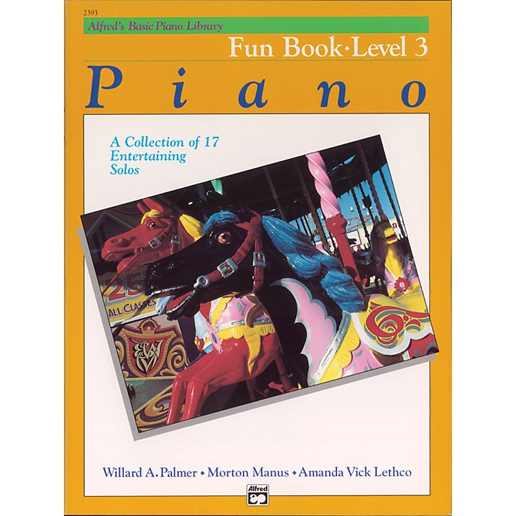Alfred Alfred's Basic Piano Course Fun Book 3