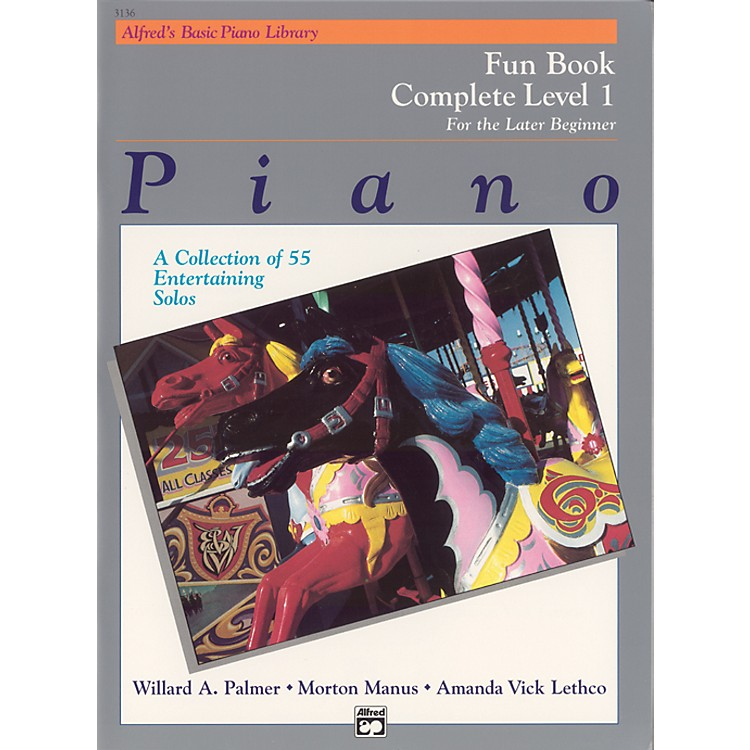 AlfredAlfred's Basic Piano Course Fun Book Complete 1 (1A/1B)
