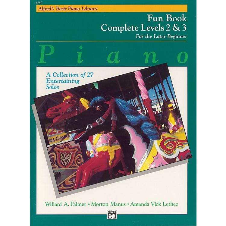 AlfredAlfred's Basic Piano Course Fun Book Complete 2 & 3