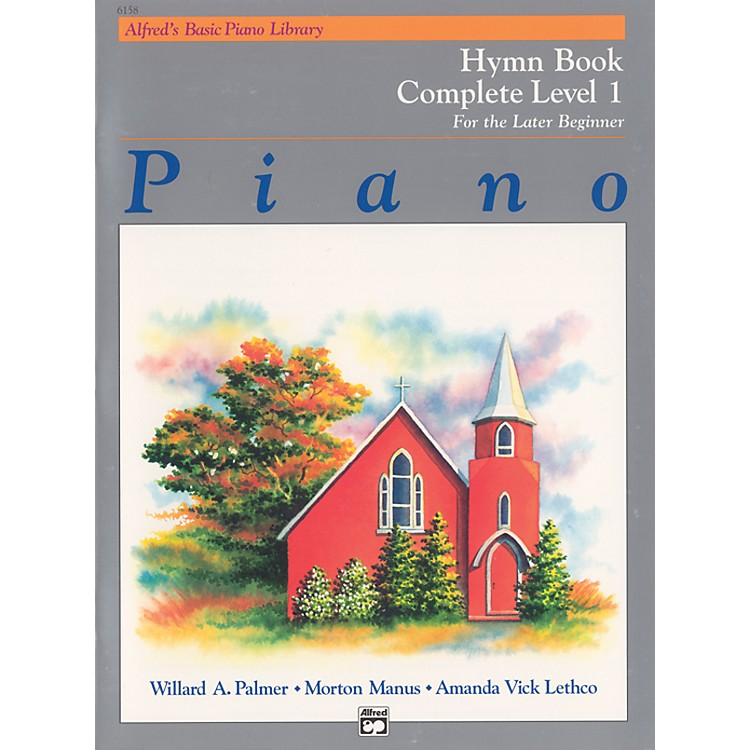 AlfredAlfred's Basic Piano Course Hymn Book Complete 1 (1A/1B)