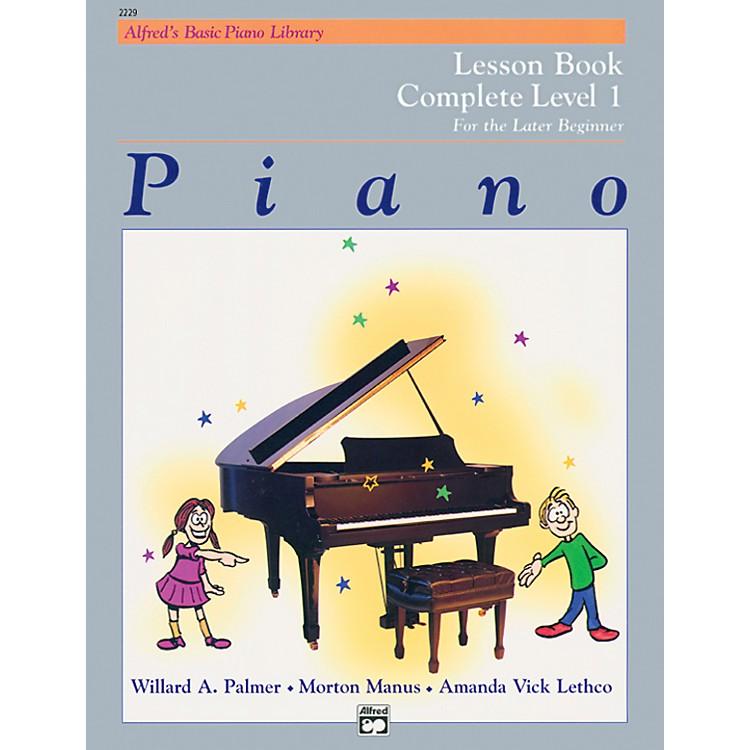 AlfredAlfred's Basic Piano Course Lesson Book Complete 1 (1A/1B)