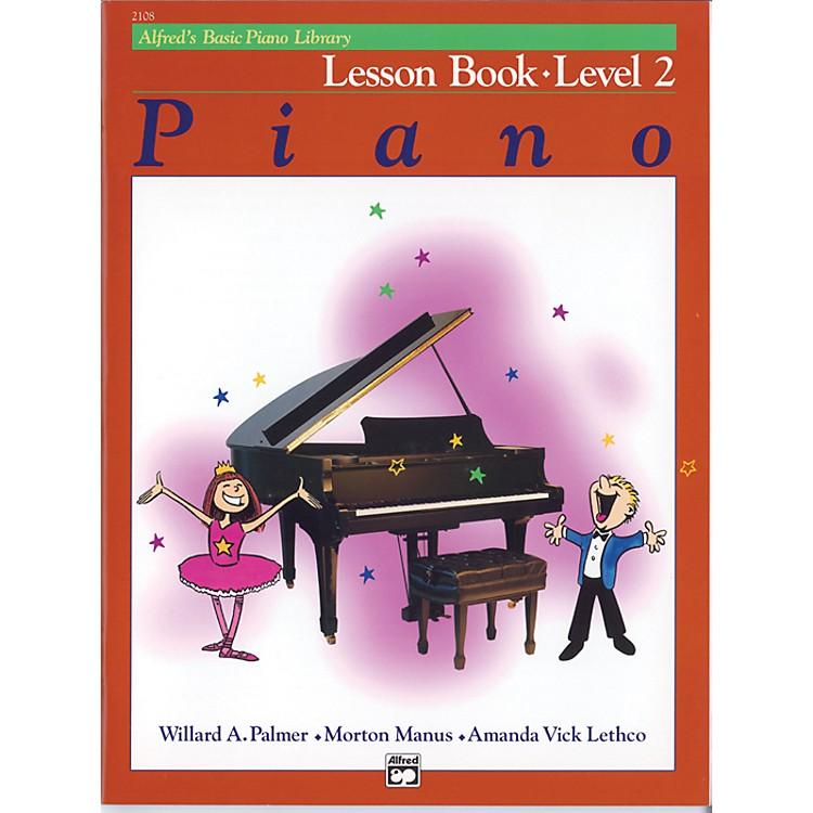 AlfredAlfred's Basic Piano Course Lesson Book Level 2