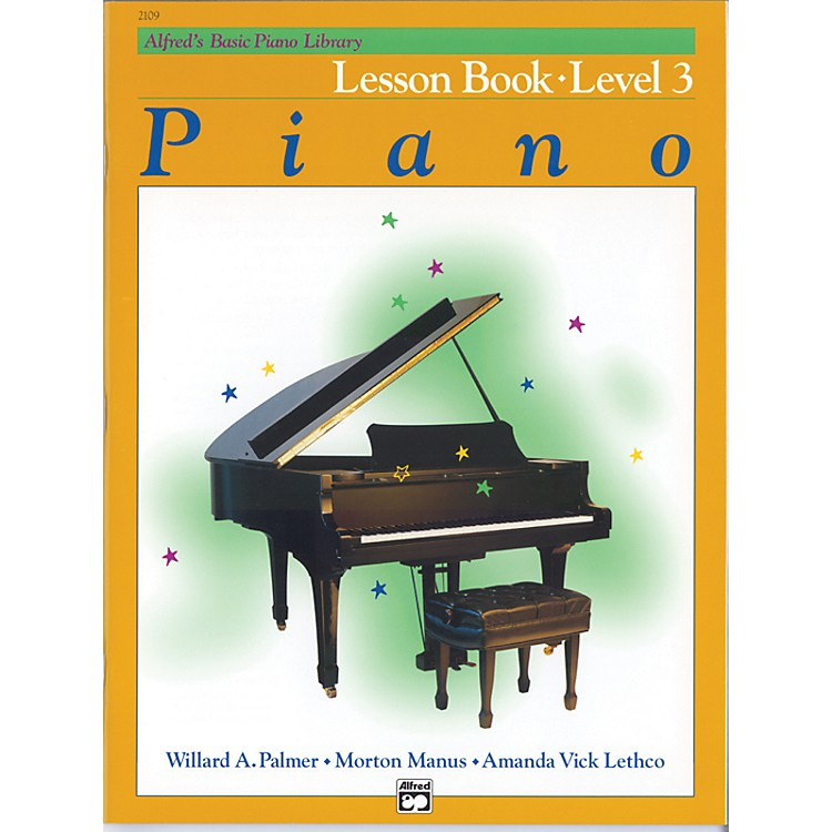 AlfredAlfred's Basic Piano Course Lesson Book Level 3
