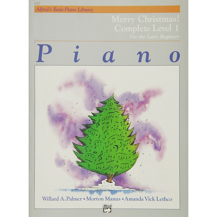 AlfredAlfred's Basic Piano Course Merry Christmas! Complete Book 1 (1A/1B)