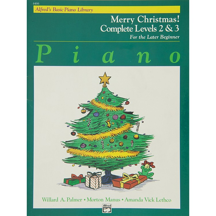 Alfred Alfred's Basic Piano Course Merry Christmas! Complete Book 2 & 3