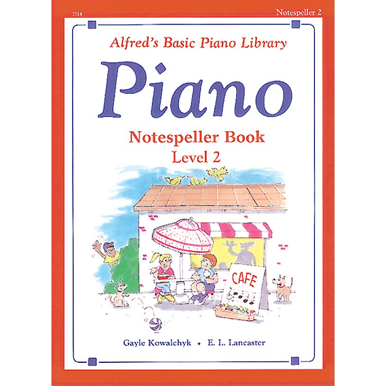 Alfred Alfred's Basic Piano Course Notespeller Book 2 Book 2