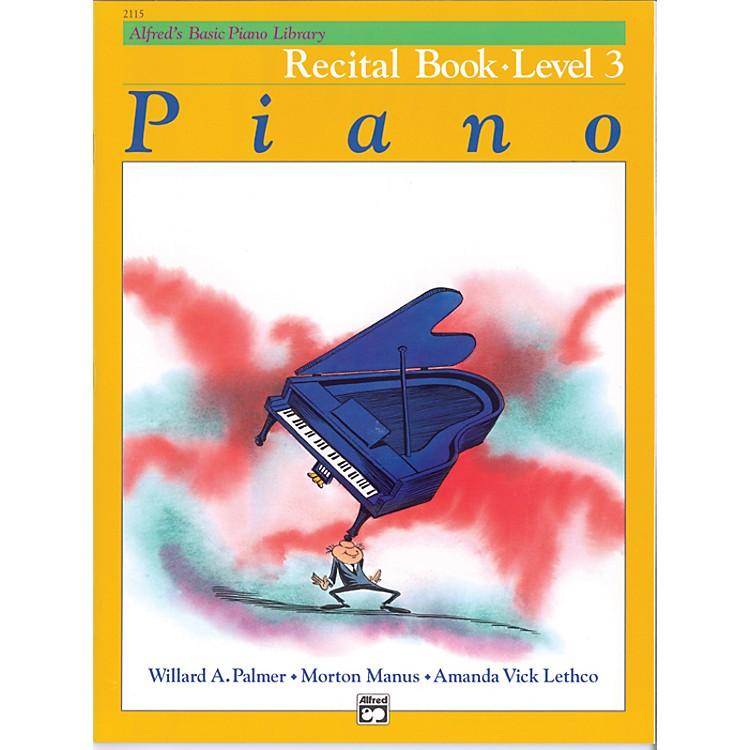 AlfredAlfred's Basic Piano Course Recital Book 3