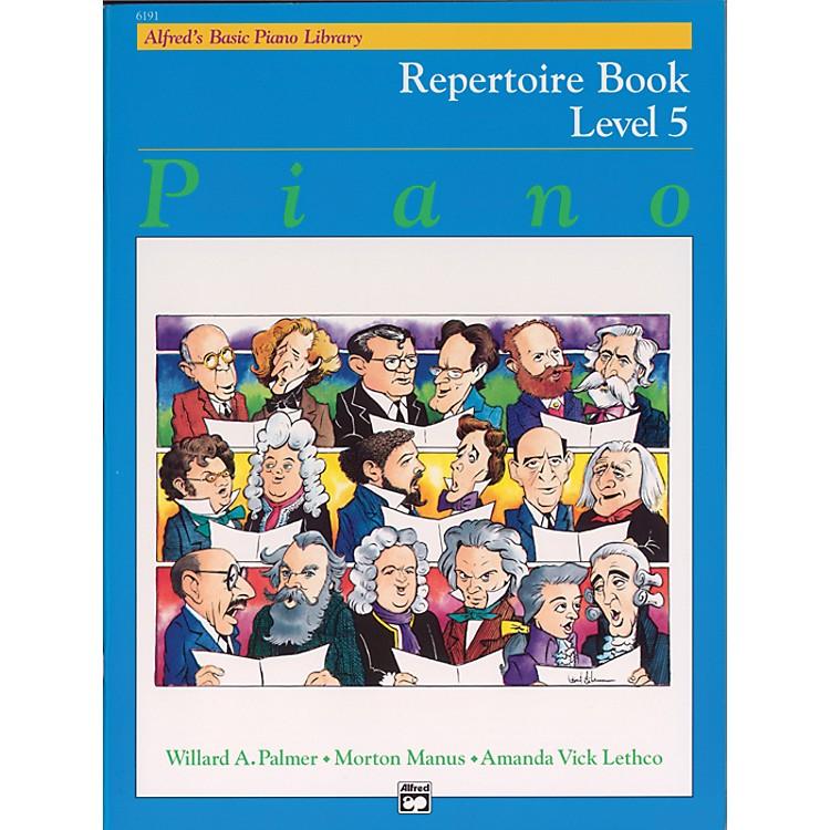 AlfredAlfred's Basic Piano Course Repertoire Book 5