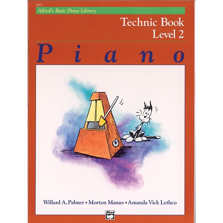 AlfredAlfred's Basic Piano Course Technic Book 2