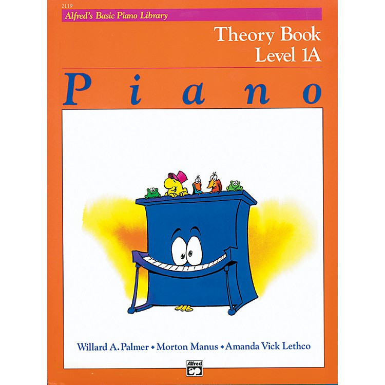 AlfredAlfred's Basic Piano Course Theory Book 1A