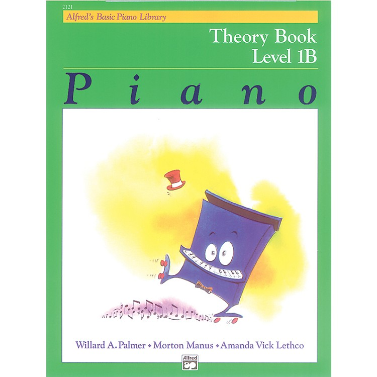 AlfredAlfred's Basic Piano Course Theory Book 1B
