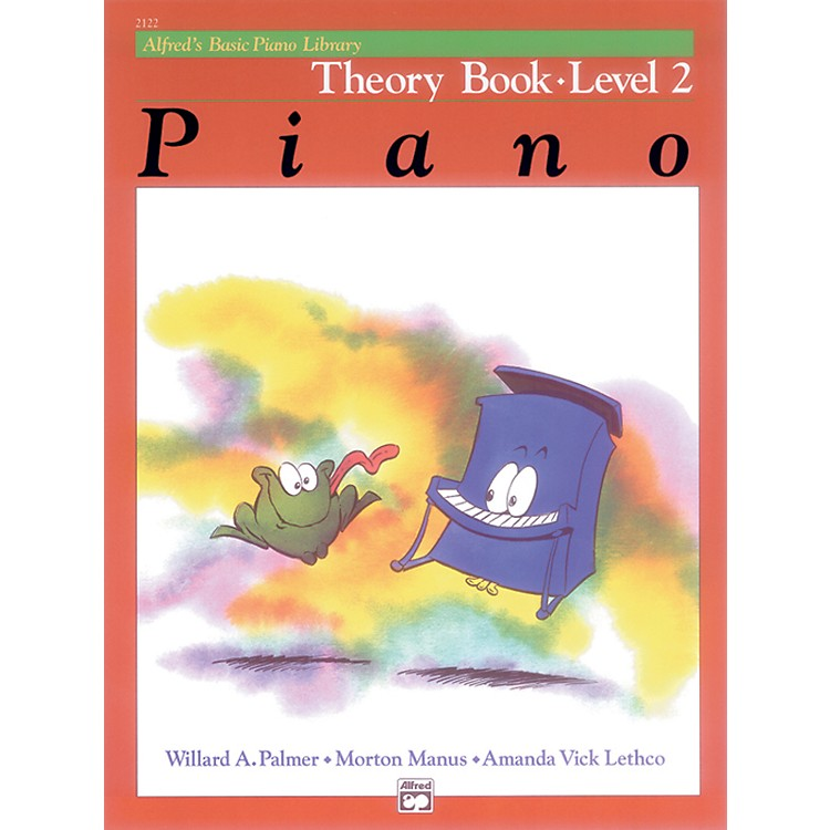 AlfredAlfred's Basic Piano Course Theory Book 2