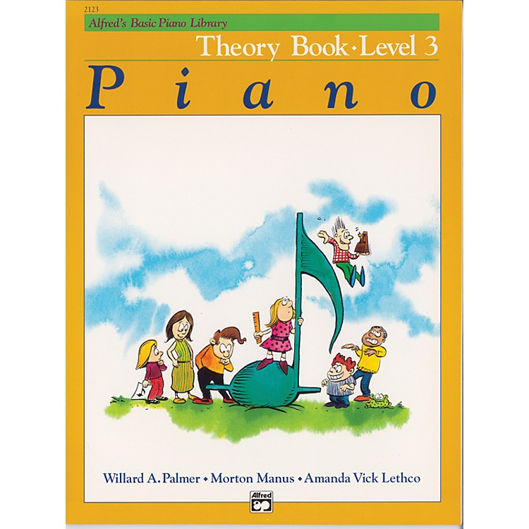 AlfredAlfred's Basic Piano Course Theory Book 3