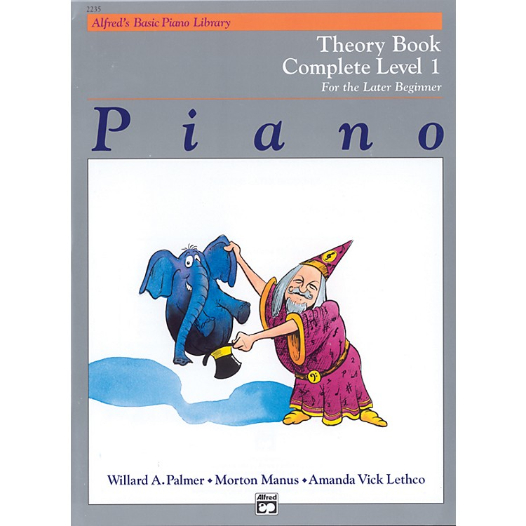AlfredAlfred's Basic Piano Course Theory Book Complete 1 (1A/1B)