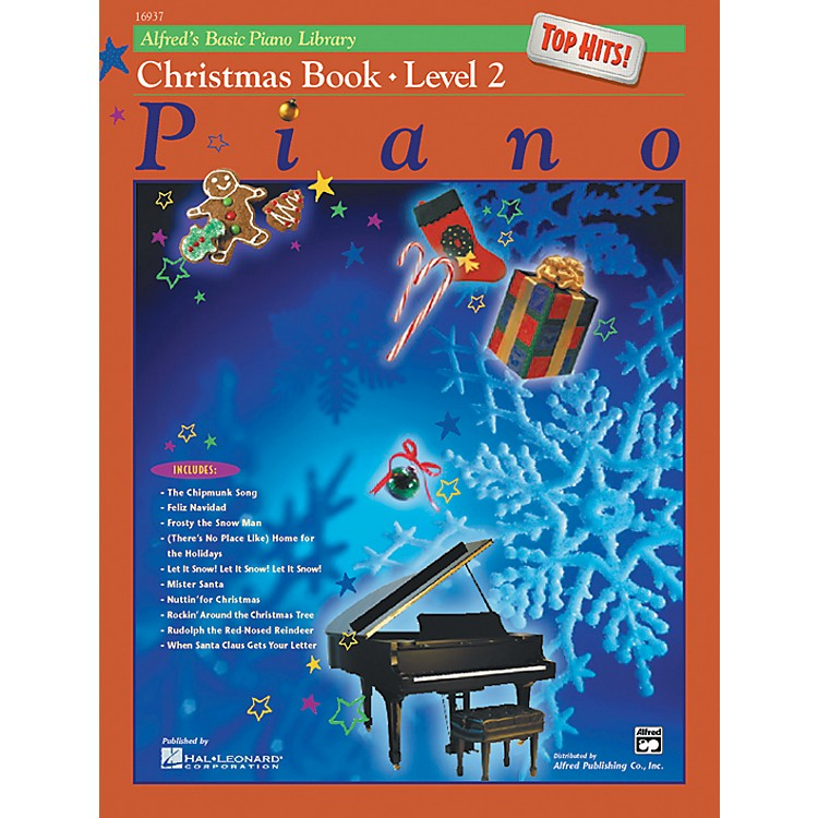 AlfredAlfred's Basic Piano Course Top Hits! Christmas Book 2
