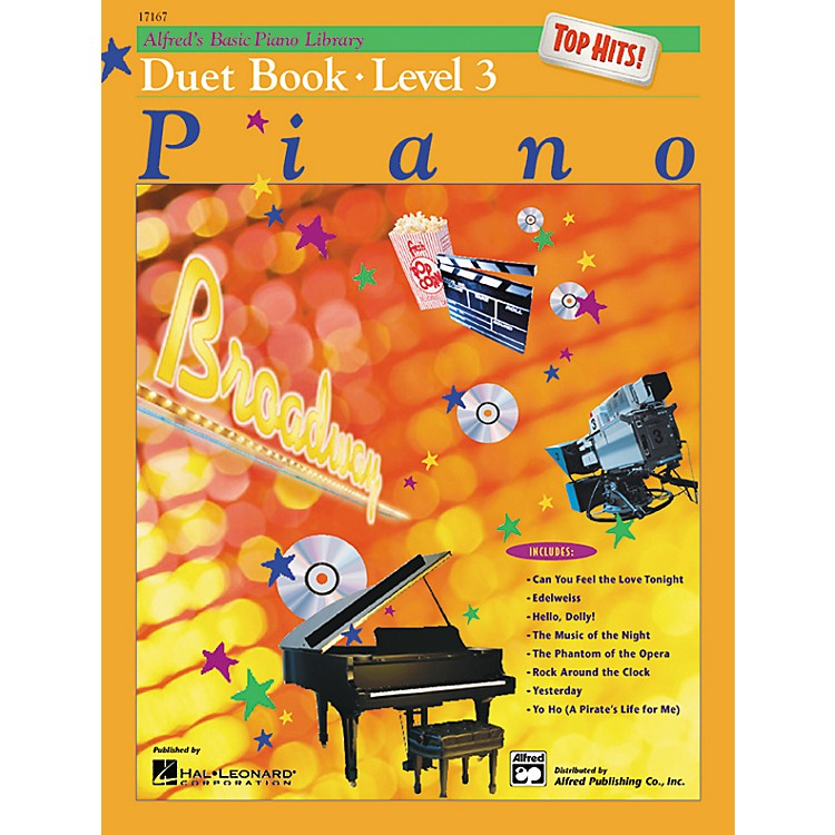 AlfredAlfred's Basic Piano Course Top Hits! Duet Book 3