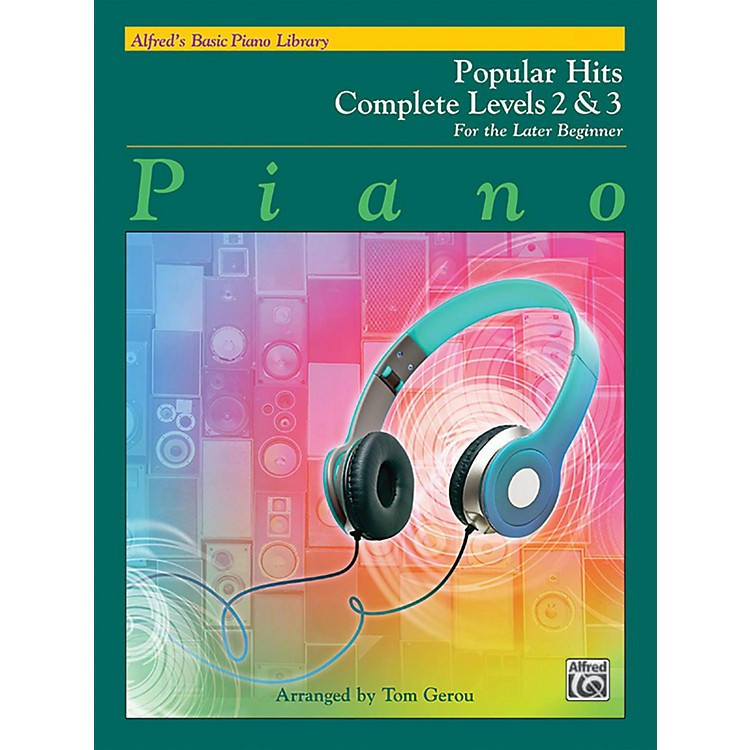 AlfredAlfred's Basic Piano Library - Popular Hits Complete Levels 2 & 3