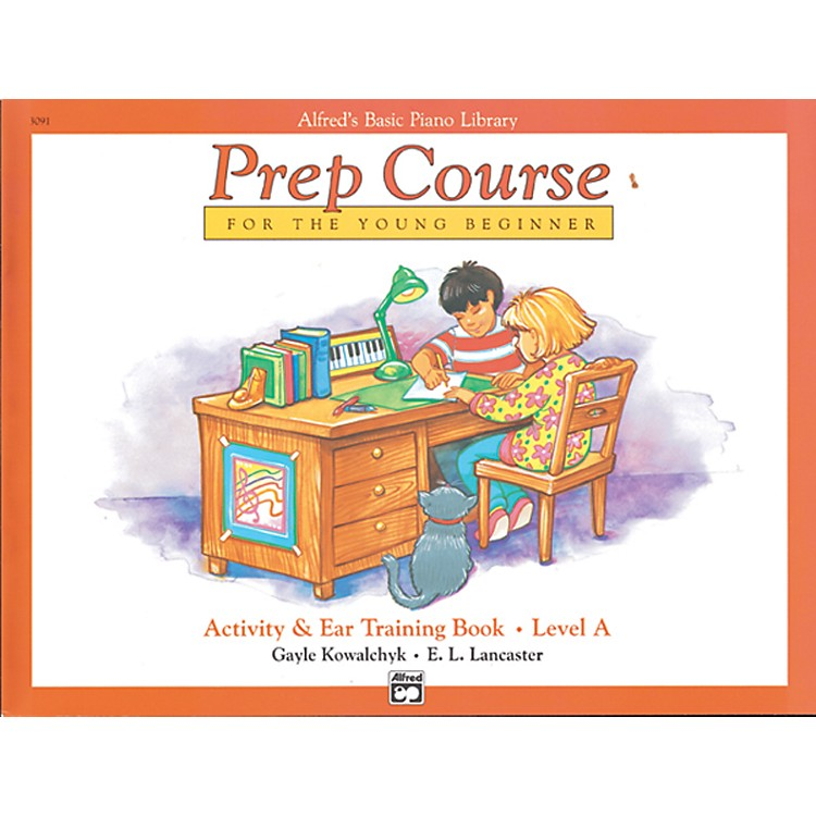 AlfredAlfred's Basic Piano Prep Course Activity & Ear Training Book A