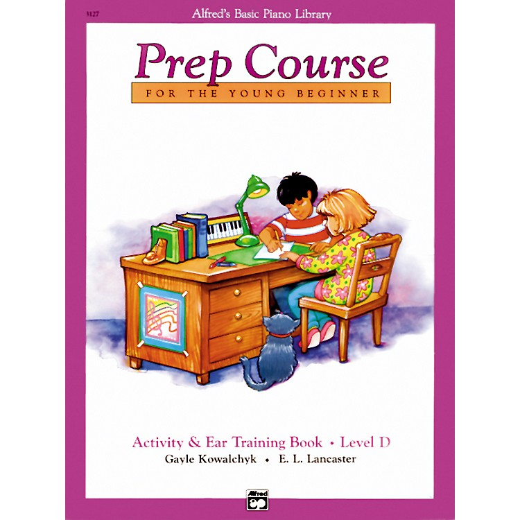 AlfredAlfred's Basic Piano Prep Course Activity & Ear Training Book D