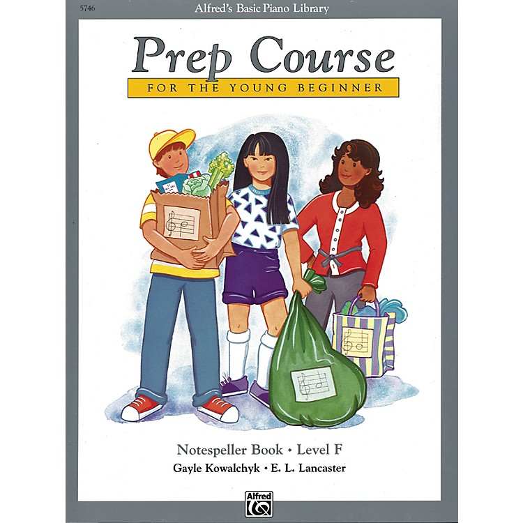 Alfred Alfred's Basic Piano Prep Course Notespeller Book F