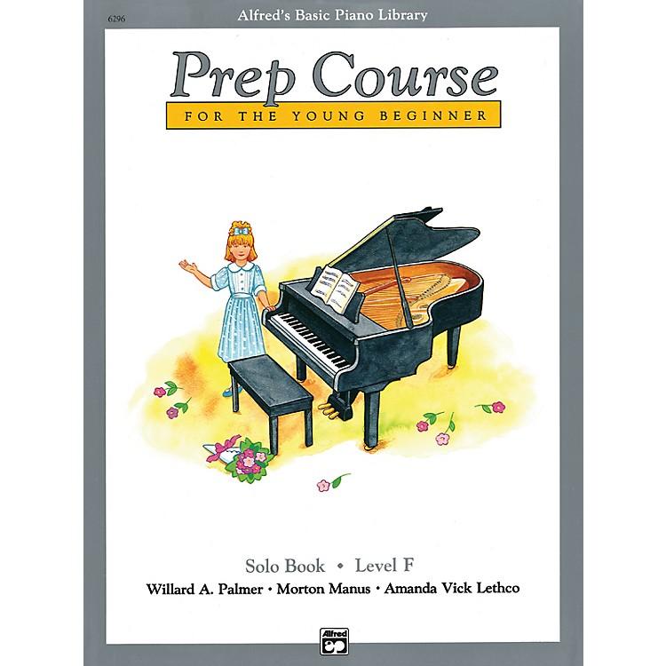 AlfredAlfred's Basic Piano Prep Course Solo Book F