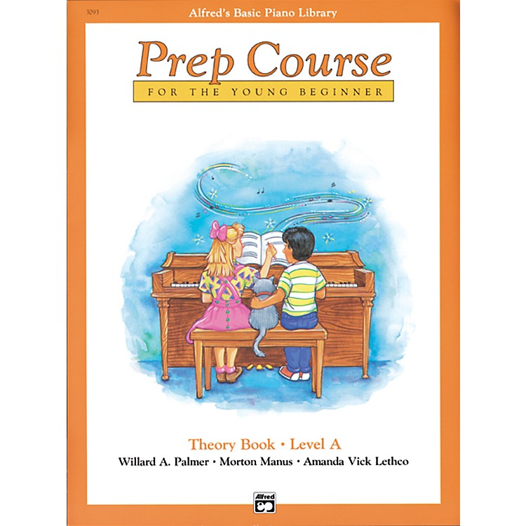 AlfredAlfred's Basic Piano Prep Course Theory Book A
