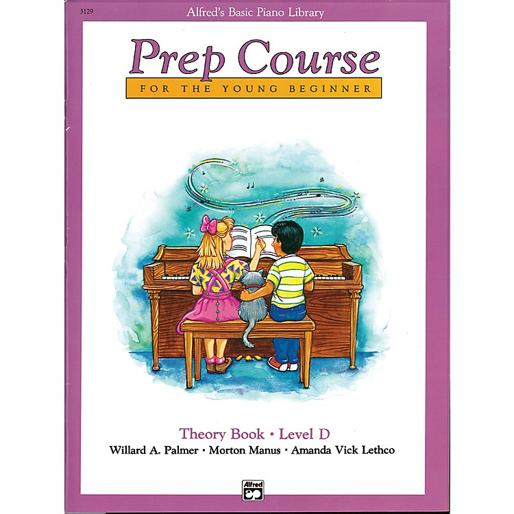 AlfredAlfred's Basic Piano Prep Course Theory Book D