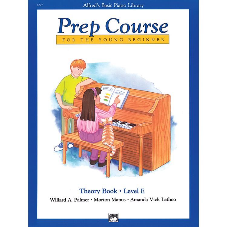 AlfredAlfred's Basic Piano Prep Course Theory Book E