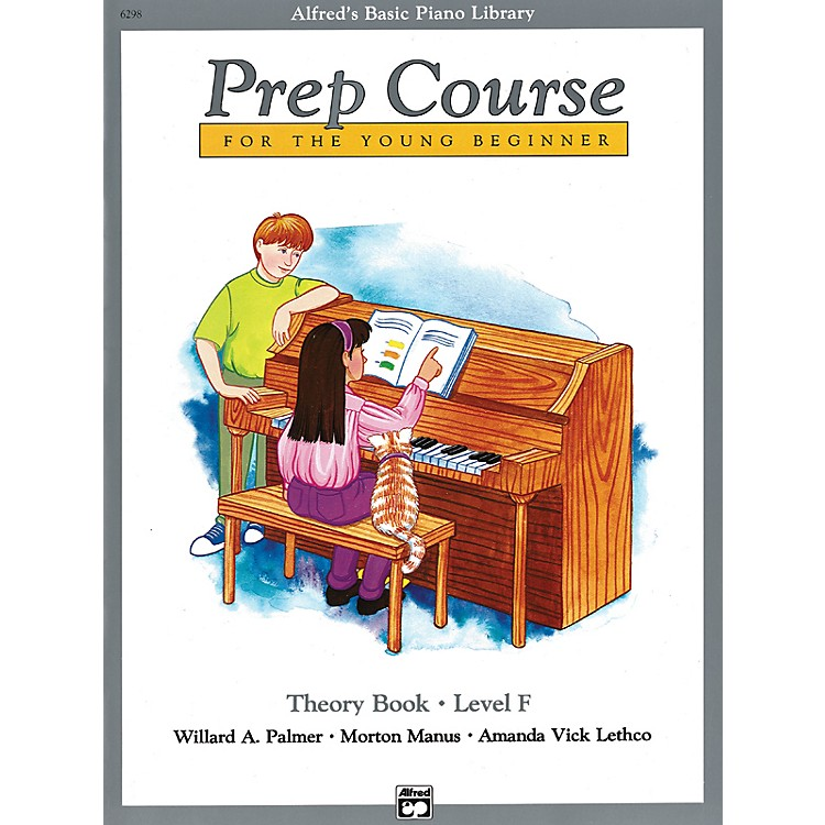 AlfredAlfred's Basic Piano Prep Course Theory Book F