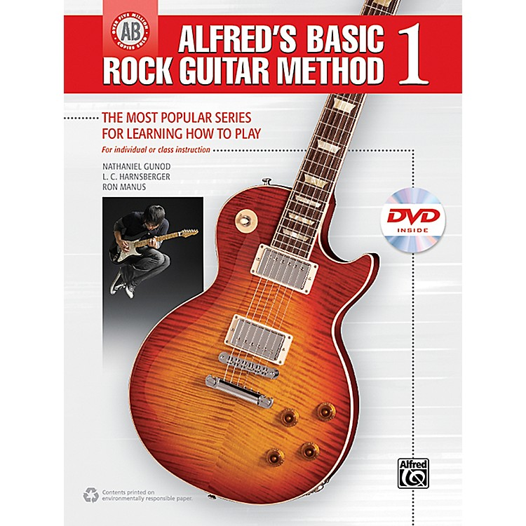 Alfred Alfred's Basic Rock Guitar 1 (Book/DVD)