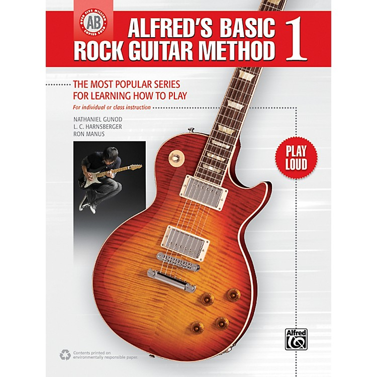 Alfred Alfred's Basic Rock Guitar 1 Book