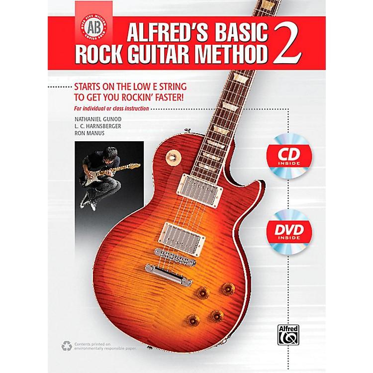 AlfredAlfred's Basic Rock Guitar Method 2 Book, CD & DVD