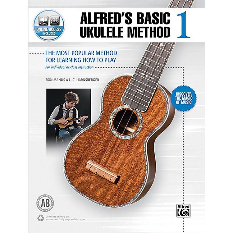 AlfredAlfred's Basic Ukulele Method 1 Book & Online Audio Beginner