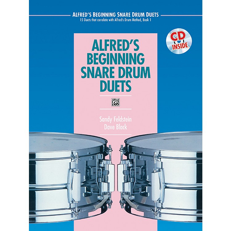 AlfredAlfred's Beginning Snare Drum Duets Book & CD
