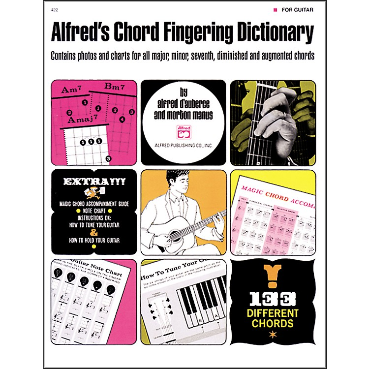 AlfredAlfred's Chord Fingering Dictionary