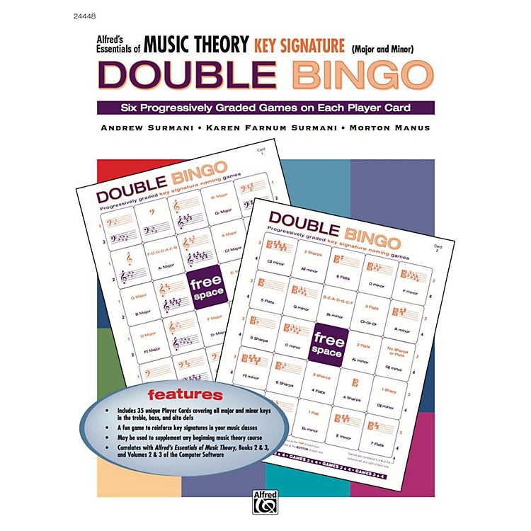 Alfred Alfred's Essentials of Music Theory: Double Bingo Game - Key Signatures