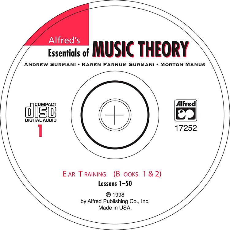 AlfredAlfred's Essentials of Music Theory Ear Training CD 1, Books 1 & 2