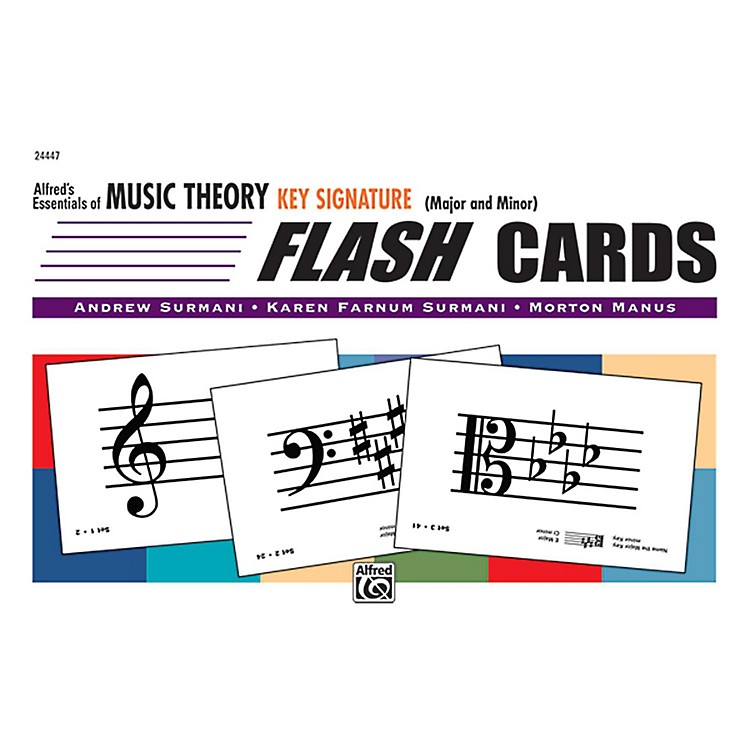 Alfred Alfred's Essentials of Music Theory: Flash Cards - Key Signatures