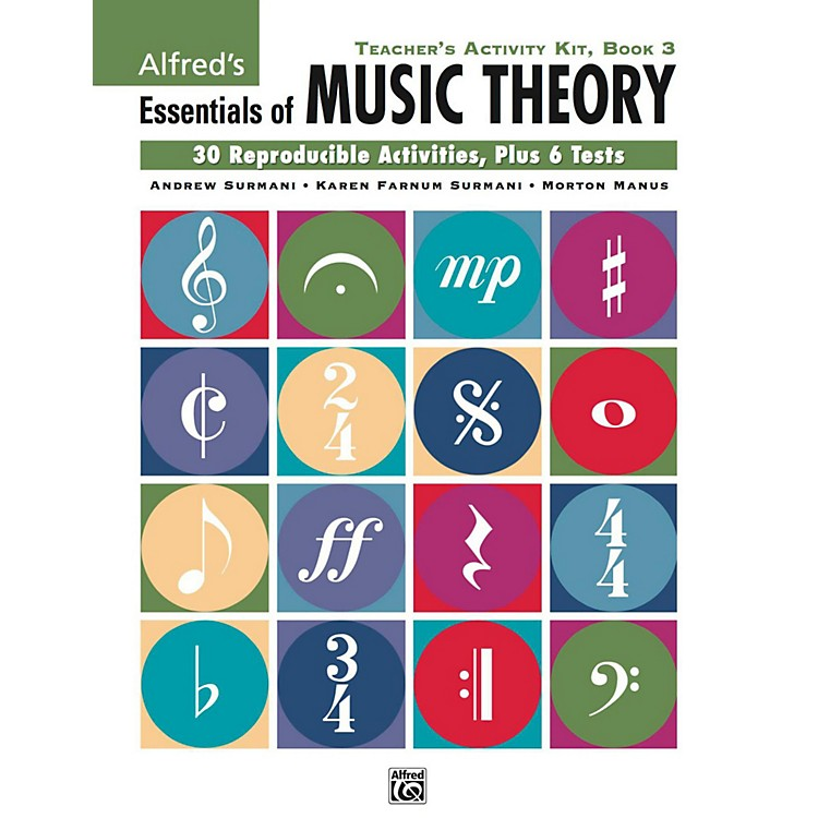 AlfredAlfred's Essentials of Music Theory: Teacher's Activity Kit, Book 3