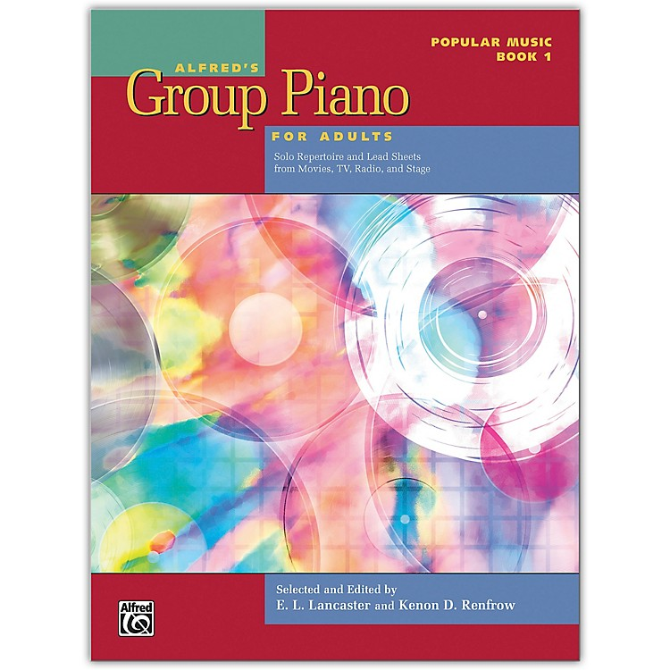 AlfredAlfred's Group Piano for Adults: Popular Music Book 1