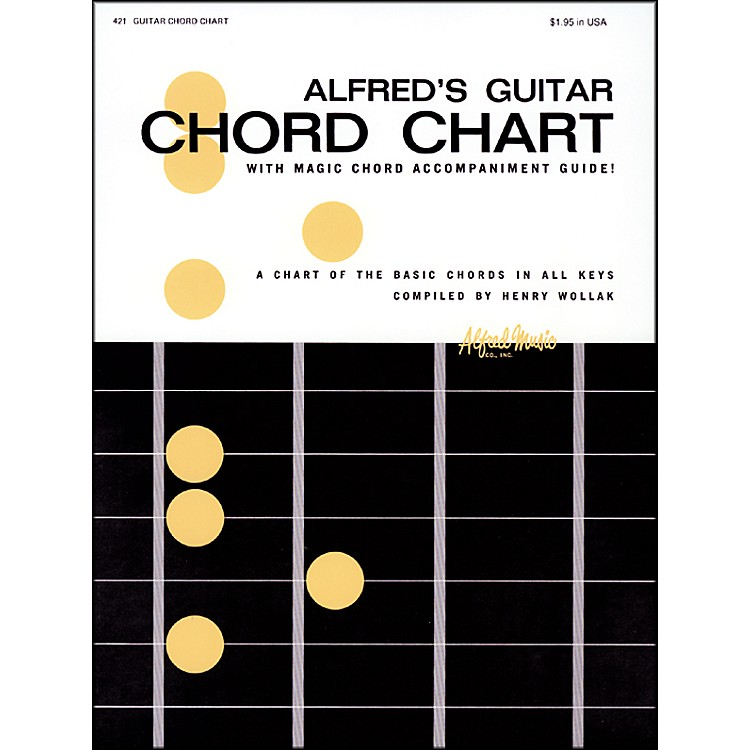 AlfredAlfred's Guitar Chord Chart