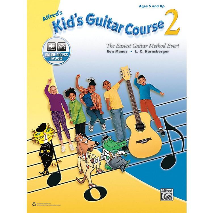 AlfredAlfred's Kid's Guitar Course 2 Book & Online Audio Beginner