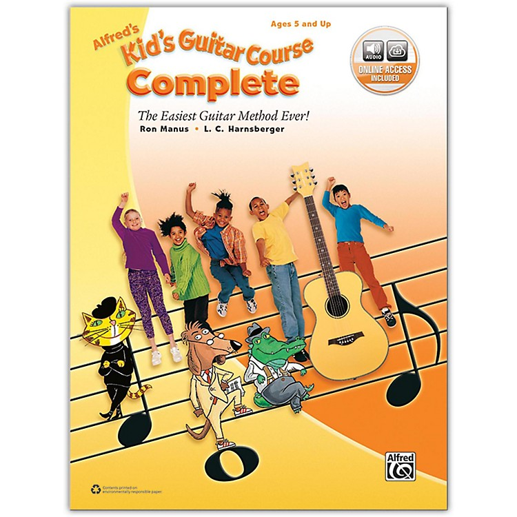 AlfredAlfred's Kid's Guitar Course Complete Book & Online Audio