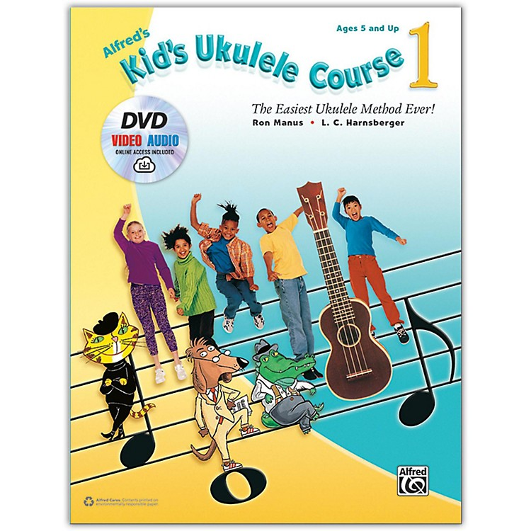 AlfredAlfred's Kid's Ukulele Course 1 - Book, DVD & Online Audio & Video