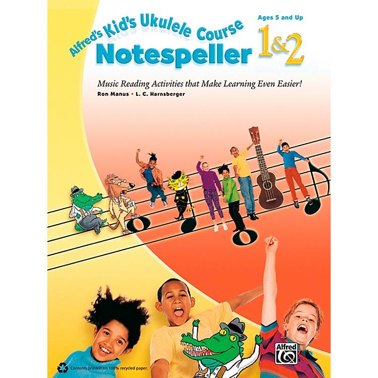 AlfredAlfred's Kid's Ukulele Course Notespeller 1 & 2 Book
