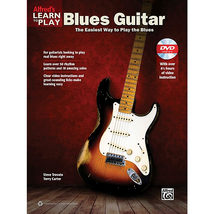 AlfredAlfred's Learn to Play Blues Guitar Book & DVD