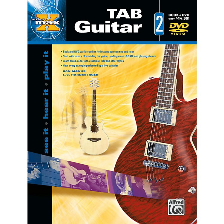 Alfred Alfred's MAX TAB Guitar 2 Book & DVD