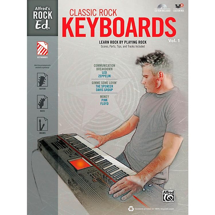 AlfredAlfred's Rock Ed.: Classic Rock Keyboards Vol. 1 Book & CD-ROM