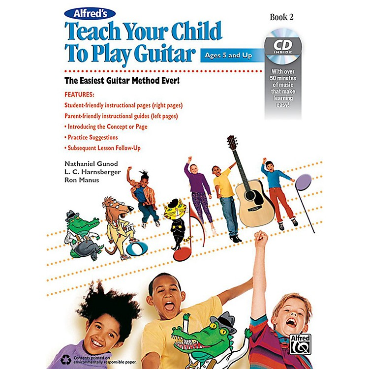 Alfred Alfred's Teach Your Child to Play Guitar Book 2 & CD