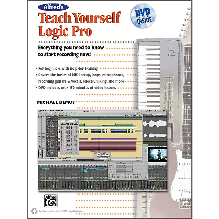 Alfred Alfred's Teach Yourself Logic Pro/Express Book & DVD